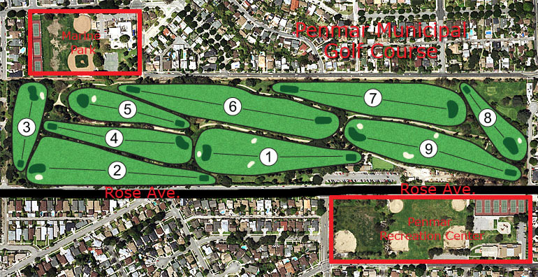 Penmar Municipal Golf Course combo view